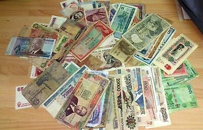 Selection of Banknotes (Various notes & conditions)