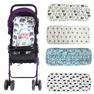 Washable Baby Kids Stroller Pram Pushchair Soft Car Seat Liner Pad Mat Cushion S