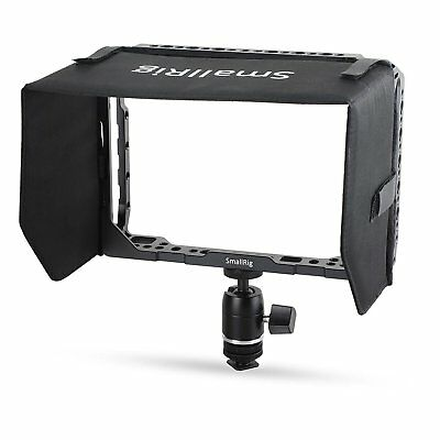 SmallRig Monitor Cage with Sunhood and Ballhead Mount for Blackmagic Video 7''