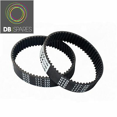2 x Planer Drive Belt For Black And Decker & KW715 KW713 BD713 177-3M X40515