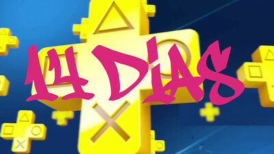 ps plus 14 dias Ps4 / ps3 / Ps Vita online
