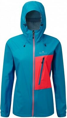 Ronhill Infinity Torrent Ladies Running Jacket - Blue