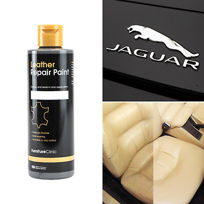 ALL IN ONE JAGUAR Leather Repair Paint (large) to dye and restore leather