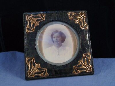 Gilt Antique Victorian Beautiful Art Nouveau Desktop Picture Photo Frame