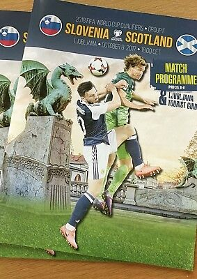 Slovenia V Scotland           08 Oct 17 Match Programme