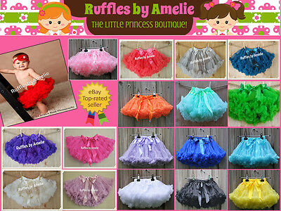Baby Girls Tutu Pettiskirt. Girls Pettiskirts. Baby Tutus. Petticoats for Girls.