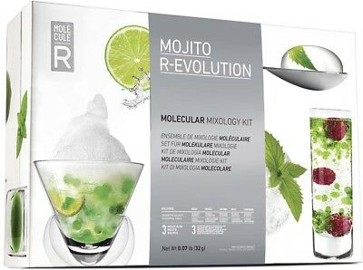 Cocktail moléculaire mojito r-evolution