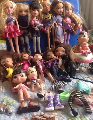 BRATZ BUMPER Bundle Job lot dolls SOME MINTAGE SELLING LOTS COMBINE POST