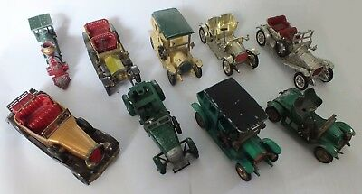 Job Lot Models of Yesteryear Diecast Vehicles Playworn
