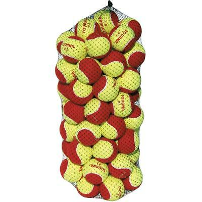 Unique Sports Tourna Low Compression Stage 3 Tennis Ball-60 Pack