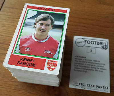 Panini Football 85 Stickers - Complete your collection