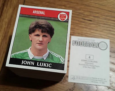 Panini Football 89 Stickers - Complete your collection