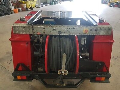 Harben 12Gpm At 4000Psi Diesel Powered High Pressure Jetter Full Working Order