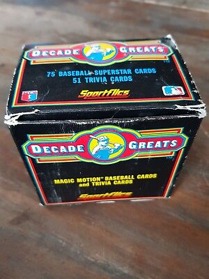baseball cards 1986 decade greats