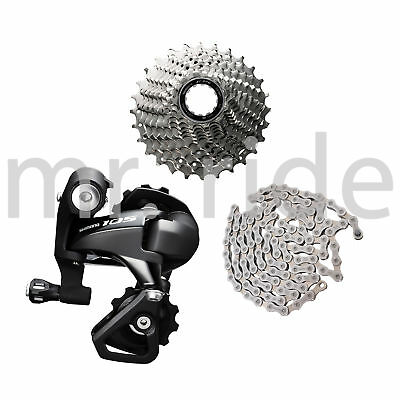 mr-ride Shimano 5800 group 3pc Rear Derailleur RD-5800,CS-5800 11-28t,11S