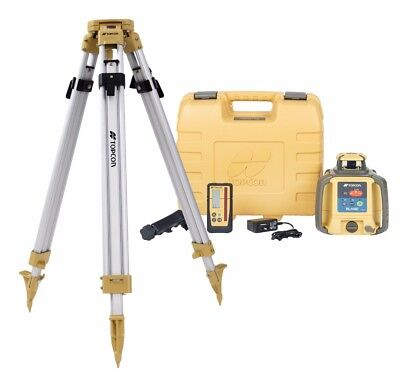 Topcon RL-H4C All-In-One Laser Kit (Alkaline Battery) - Includes Tripod