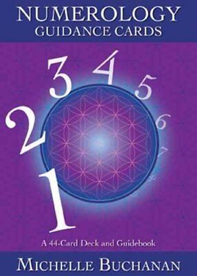 Numerology Guidance Cards A 44-Card Deck and Guidebook 9781401943608