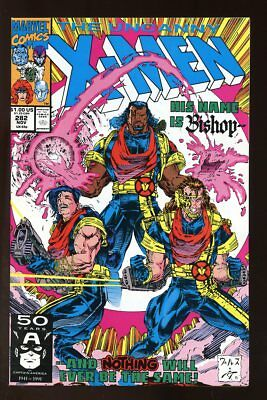 UNCANNY X-MEN #282 VF/ NEAR MINT 1991 1ST APP BISHOP MARVEL COMICS bin-2017-4372