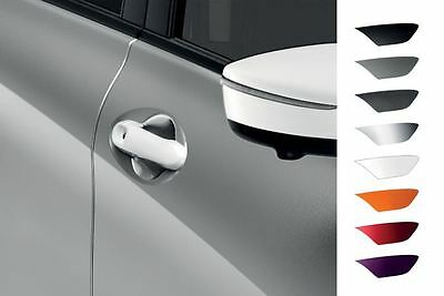 Nissan Micra 08/13> Front Door Handle Covers White -  Without IK KE6051K051WH
