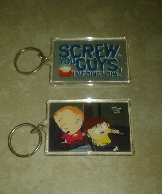 South park pair of keychains Cartman, cripple fight new