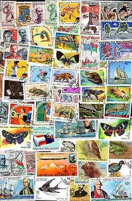 Madagascar 900 timbres différents