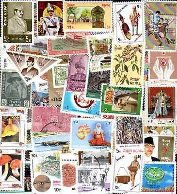 Nepal 200 timbres différents