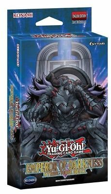 EMPEROR OF DARKNESS STRUCTURE DECK Yugioh NEW Factory SEALED