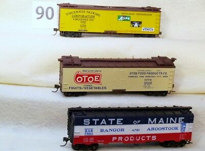 Set Of Three Walthers Ho Gauge Reefers-No Reserve