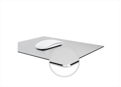 smoothness Mouse Pad, Luxury Aluminum Laptop Mouse Pad Design Gaming dustproof