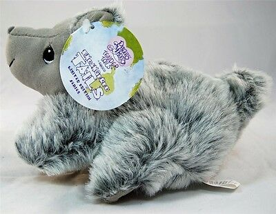 Precious Moments Tender Tails Endangered Chinchilla Limited Edition Plush - New