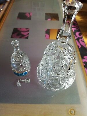 crystal and glass bells