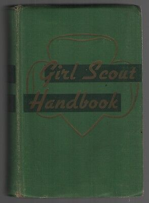 1949 Girl Scout Handbook 4th Impression