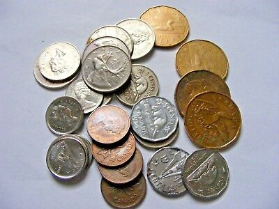mixed lot of Canadian coins over 6.00