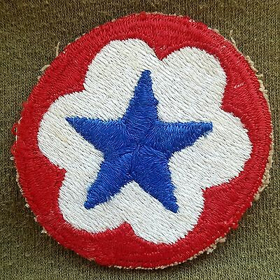 Pre Owned. US Army Supply Service Cloth Shoulder Patch
