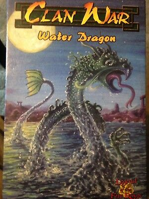 D&D / 'Clan War' Legend Of The Five Rings Water Dragon Mini AEG - Never Built!