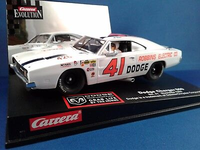 Carrera 25716 Dodge Charger 500 No.41 Riverside '69 1/32 scale slot car