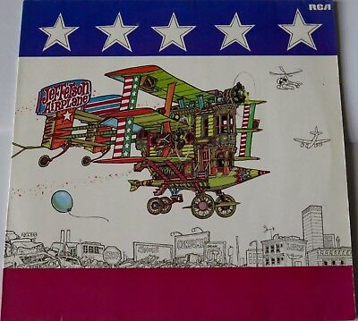 "JEFFERSON AIRPLANE  ""After Bathing at Baxters""  1983  RCA RECORDS 12"" PSYCH LP."