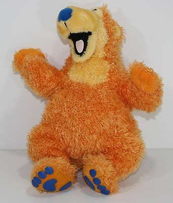 bear in the Blue House Plush Bear disney  Jim Henson Stuffed Lovey 12""