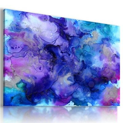 KALEIDOSCOPE ABSTRACT FLOWERS CANVAS WALL ART PICTURE LARGE WS115 MATAGA