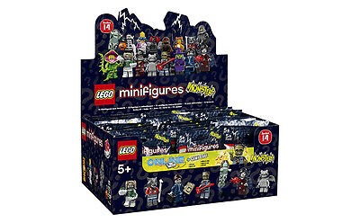 LEGO MINIFIGURES Series 14 Zombie Pirate Monster Banshee, Spider 71010