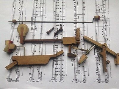 Piano Tuning Upright, Whippen & Hammer Action Assembly, Piano Spare. C#5 Key