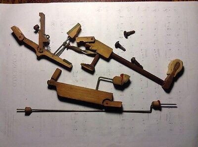 Piano Tuning Upright, Whippen & Hammer Action Assembly, Piano Spare. B2 Key