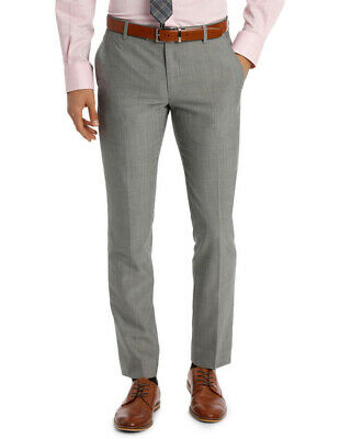 NEW Ben Sherman Suit Trouser Grey