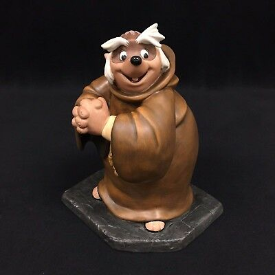 WDCC Disney Classics Collection Friar Tuck Bemused Badger Robin Hood DIS84
