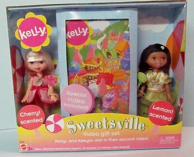 """Never Removed From Box 2003 Kelly & Keeya """"sweetsville"""" Video Gift Set"""