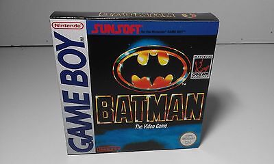 Batman (English) (Game Boy) (Caja + Insert) (Only Box)