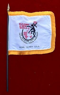 Salvation Army 1985 International Youth Congress Flag