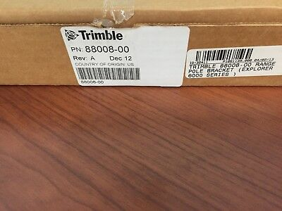 Trimble 88008-00  Range Pole Bracket Explorer 6000 Series brand new
