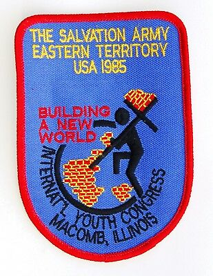 Salvation Army 1985 International Youth Congress Eastern Territory Patch