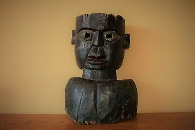 Antique tribal Mask - Nepal - wood